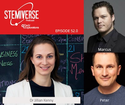Stemiverse 0052 - Dr  Jillian Kenny discusses the power of